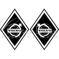 Stickers Losange Volvo