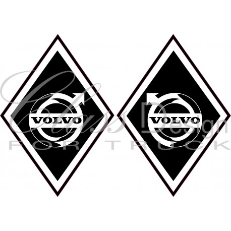 Stickers Losange Volvo