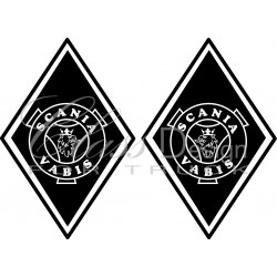 Stickers Losange Scania Vabis