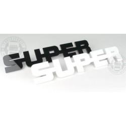 Emblème de calandre Super Droit