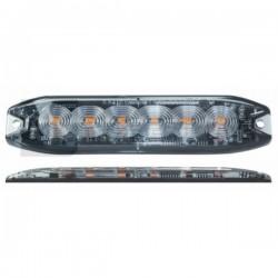 Feu flash 6 LED extra plat