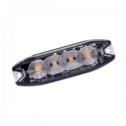 Feu flash 4 LED extra plat