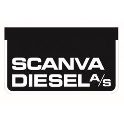Paire de bavettes Scania Diesel