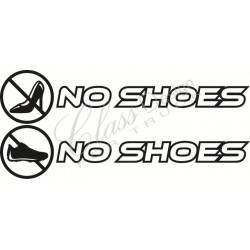 Stickers No Shoes