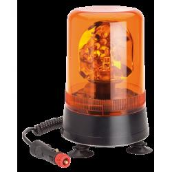 Gyrophare à ampoule 24V fixation magnétique