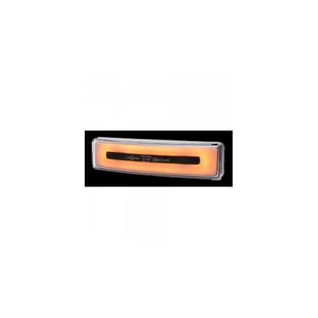 Feu de visière Scania 4/R néon led orange