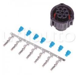 Kit connecteur femelle AMP 7 contacts