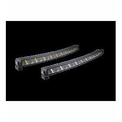 Barre à LED incurvée 110cm + Feu de position