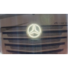 Plexiglass Logo Mercedes MP4 Eclairage Blanc