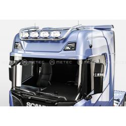 RAMPE DE TOIT METEC INOX POUR Scania NG R/S CABINE MEDIUM ET HAUTE