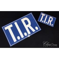 PLAQUE T.I.R.