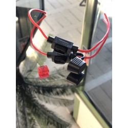Porte fusible avec mini fusible 10AMP