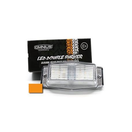 Double-Ampoules à LED Blanc éclairage Orange