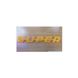 Emblème de calandre Super Orange