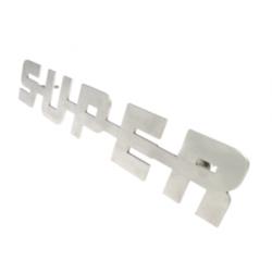 EMBLEME SUPER - ACIER INOXYDABLE