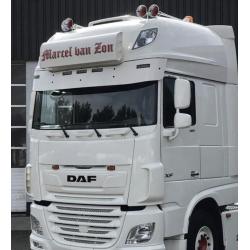 Visière DAF XF Super Space Cab 29,5cm