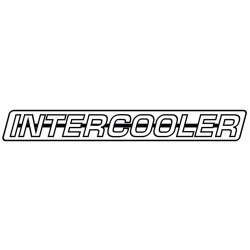 Stickers Intercooler